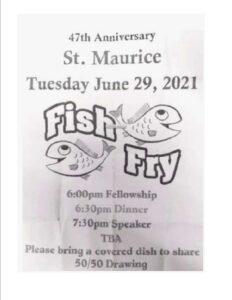 St. Maurice Fish Fry @ St Maurice Catholic Church | Greensburg | Indiana | United States