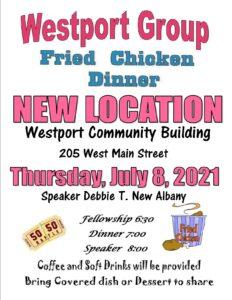 Westport Dinner @ Westport Community Building | Westport | Indiana | United States