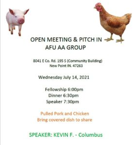 AFU Group Pitch in @ New Point Community Building | Greensburg | Indiana | United States